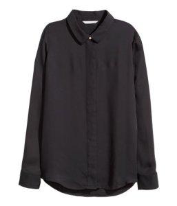 H&M Long-Sleeved Blouse ($25)