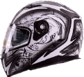 Demon Samurai - best snowmobile helmet