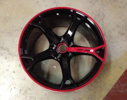 Paint Motorcycle Rims