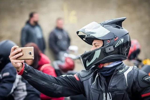 Motorcycle Helmet Fitting