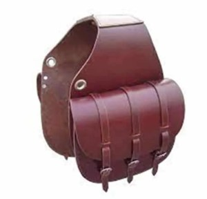 how to take care leather saddlebags