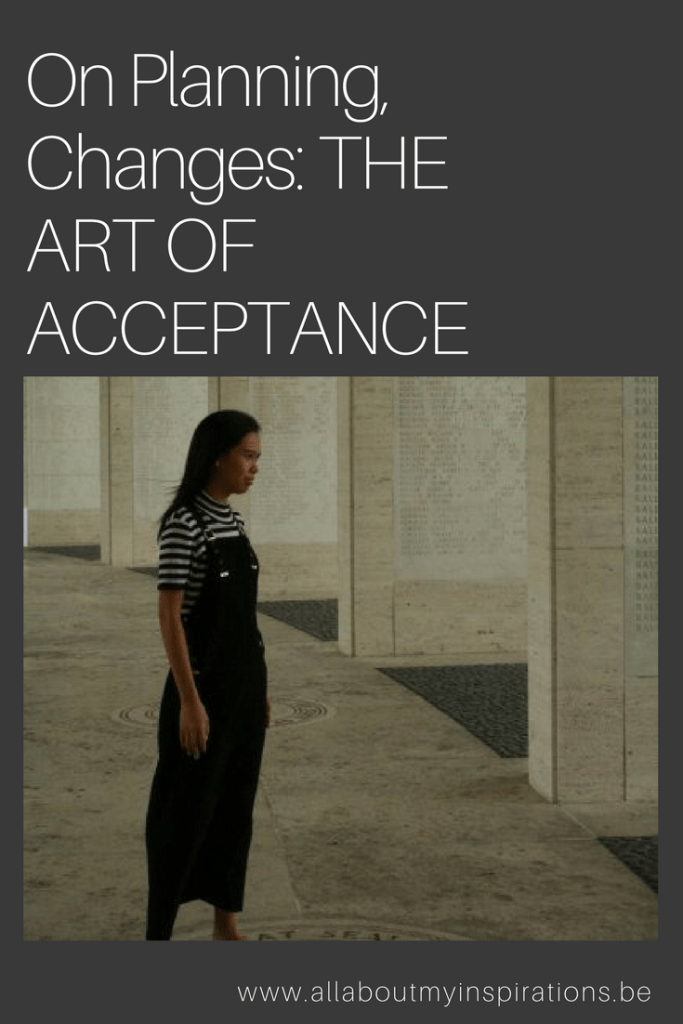 Art of acceptance