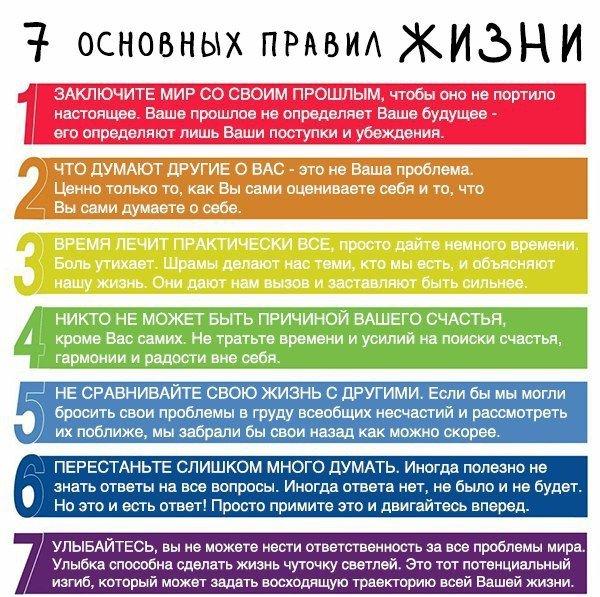 Основные жизненные принципы