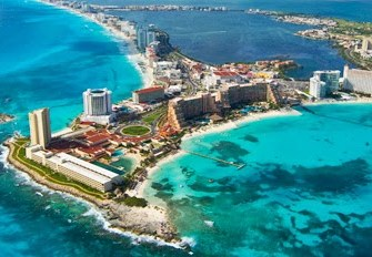 Quintana Roo attracts the same number of tourists as Brazil and Argentina combined