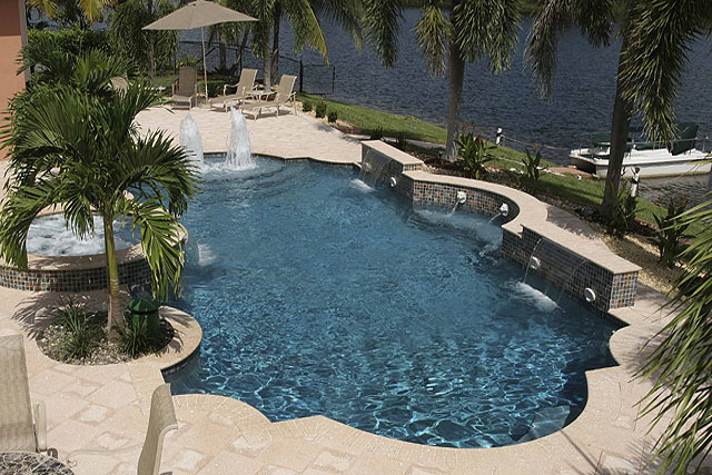 Pool Plaster Mix : Pool resurfacing plaster pebble finishes exposed