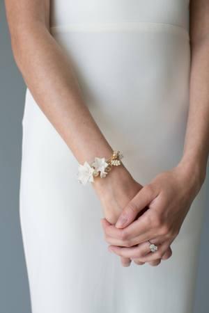 MEADOW SWEET   Bridal Bracelet