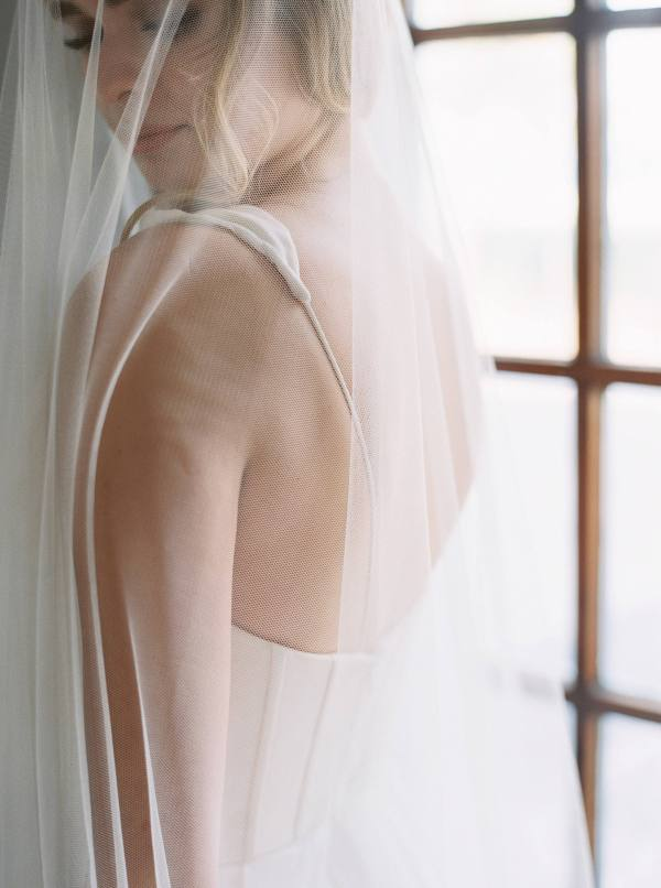 Ada   Cathedral Length Drop Veil, Wedding Veil, Cathedral Length Veil