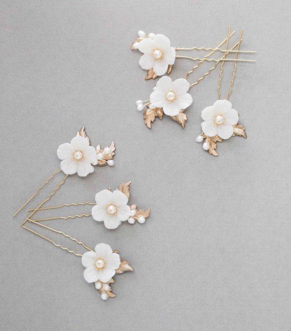 wedding hair pins, bridal hair pins