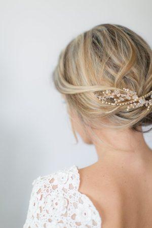 Wedding Headpiece, Bridal headpiece, Crystal headpiece, Wedding hair vine, wedding hair accessory - VICTORIA