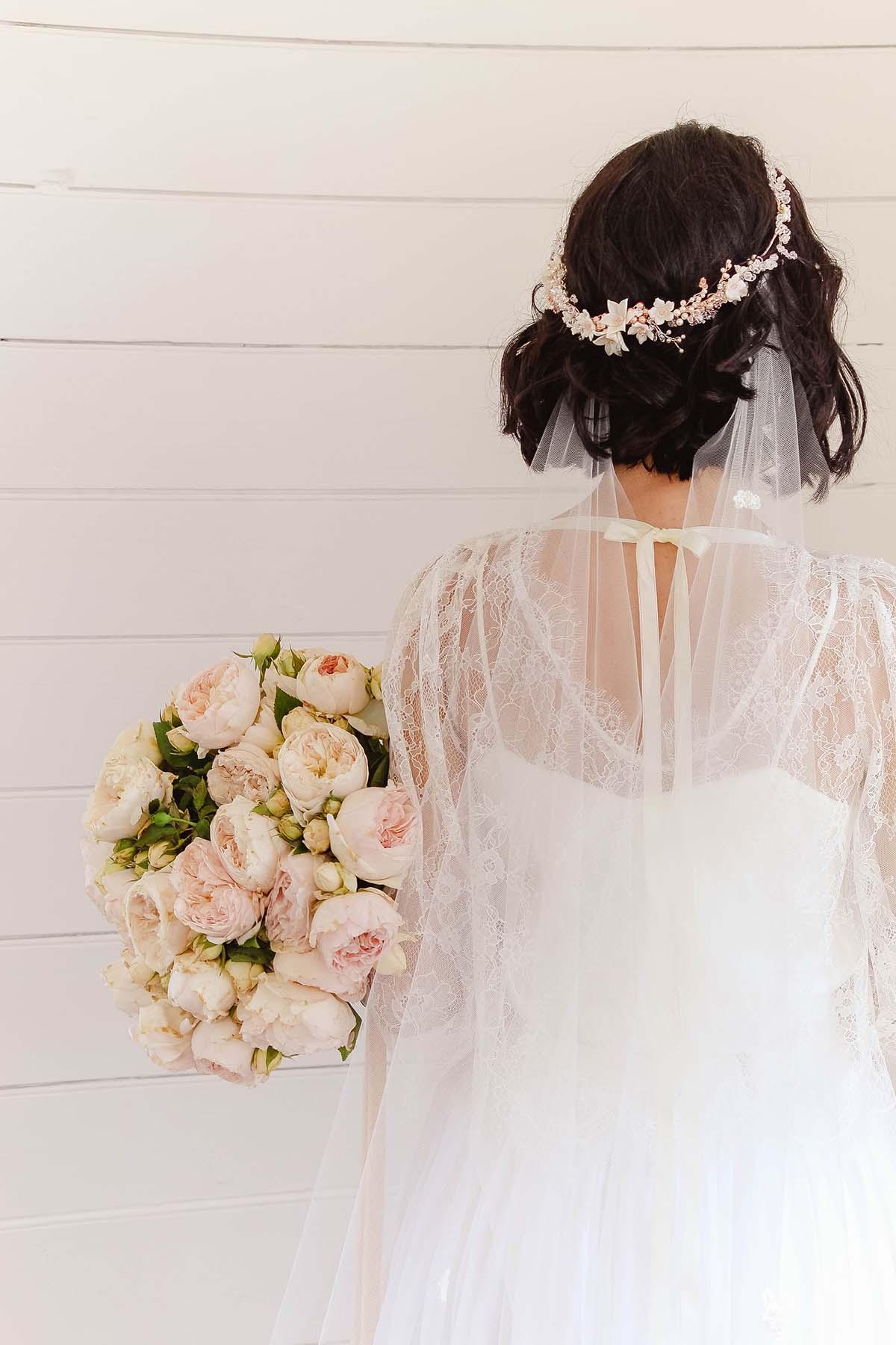 Rose gold floral wedding crown gwenonwy all about romance rose gold floral wedding crown gwenonwy izmirmasajfo