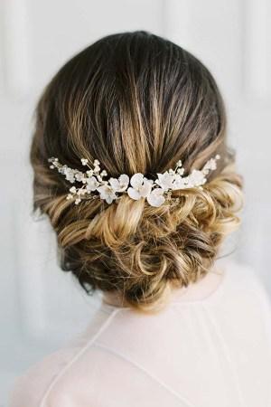Gold Botanical Hair Vine - VIOLETTA