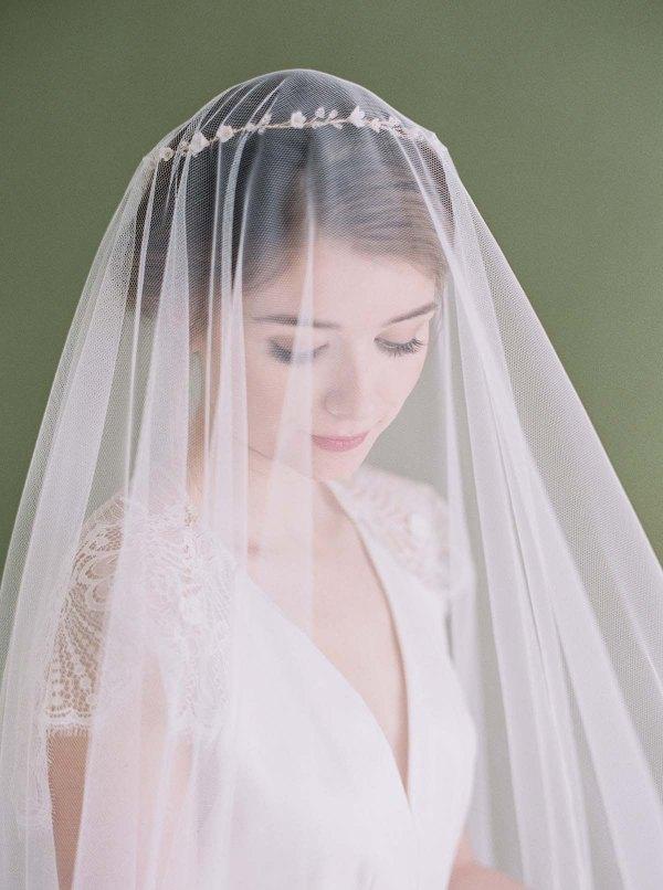 ALEXANDRA Blusher Veil | All About Romance