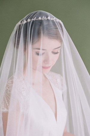 ALEXANDRA Blusher Veil | All About Romance