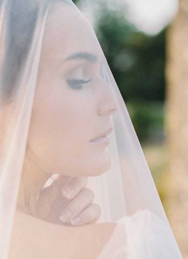 Cathedral Blusher Veil All About Romance