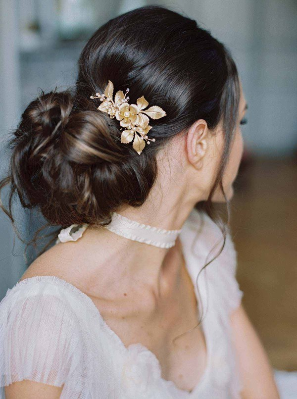 Bridal hair comb le lilly