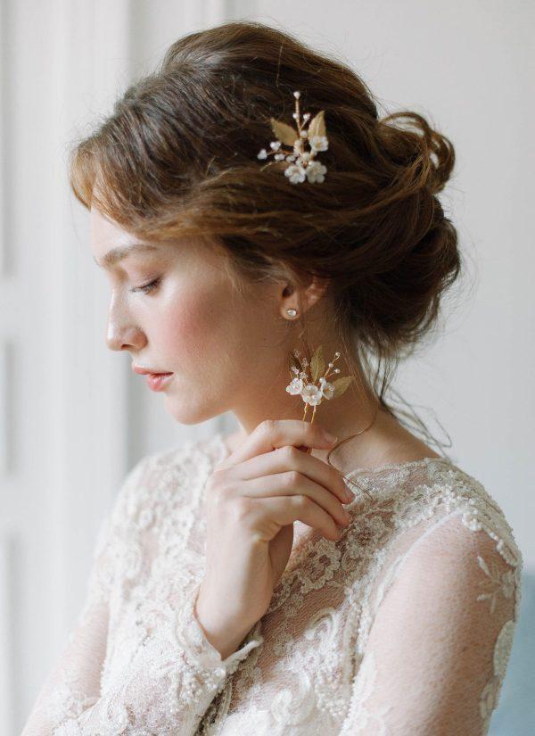bridal hair pins, wedding hair pins