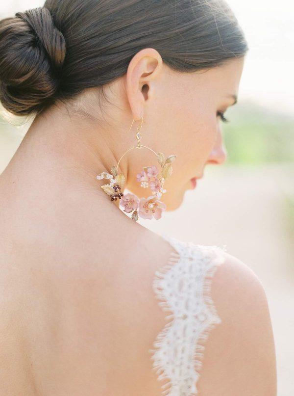 wedding earrings, bridal earrings