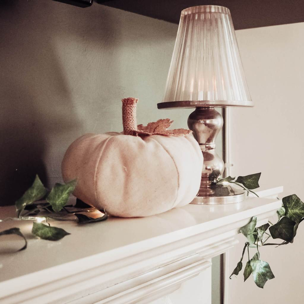 Adding Fairy Lights will add some warmth to your Fall Home Decor