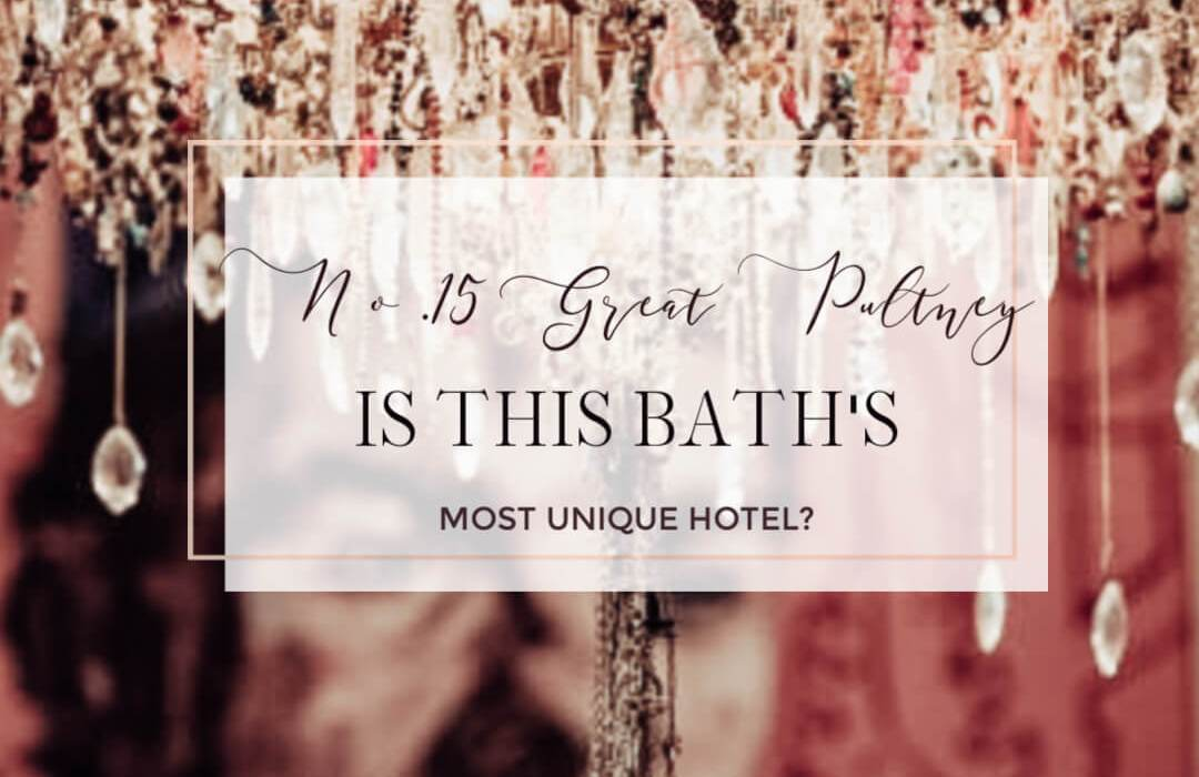 No.15 Great Pulteney: is this Bath's most unique hotel? There are so many beautiful places to stay in the city of Bath but No.15 Great Pulteney is in a class of its own. Not only is it a luxury boutique hotel that is on the pulse, but, in my opinion No.15 Great Pulteney is one of the most unique hotels I've stayed in. Read more on www.allaboutrosalilla.com