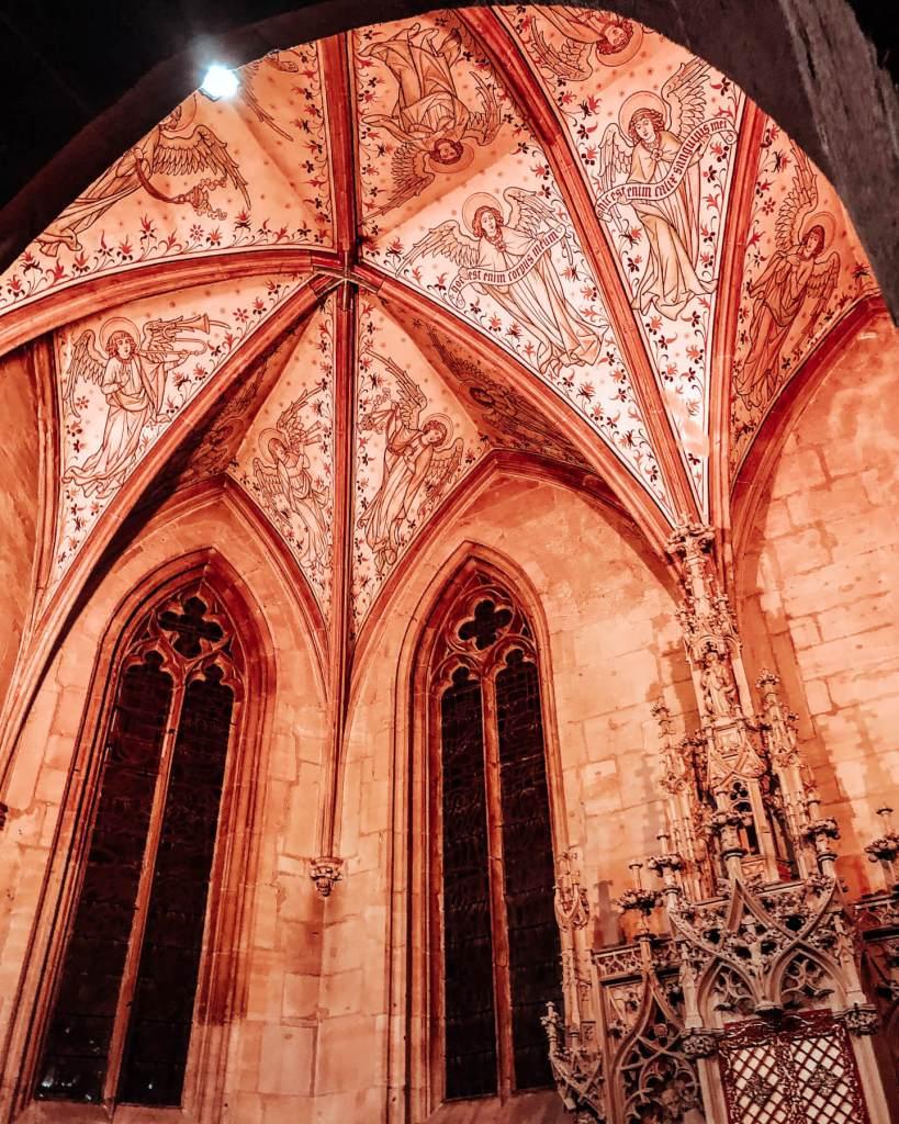 The beautiful churches of Colmar.