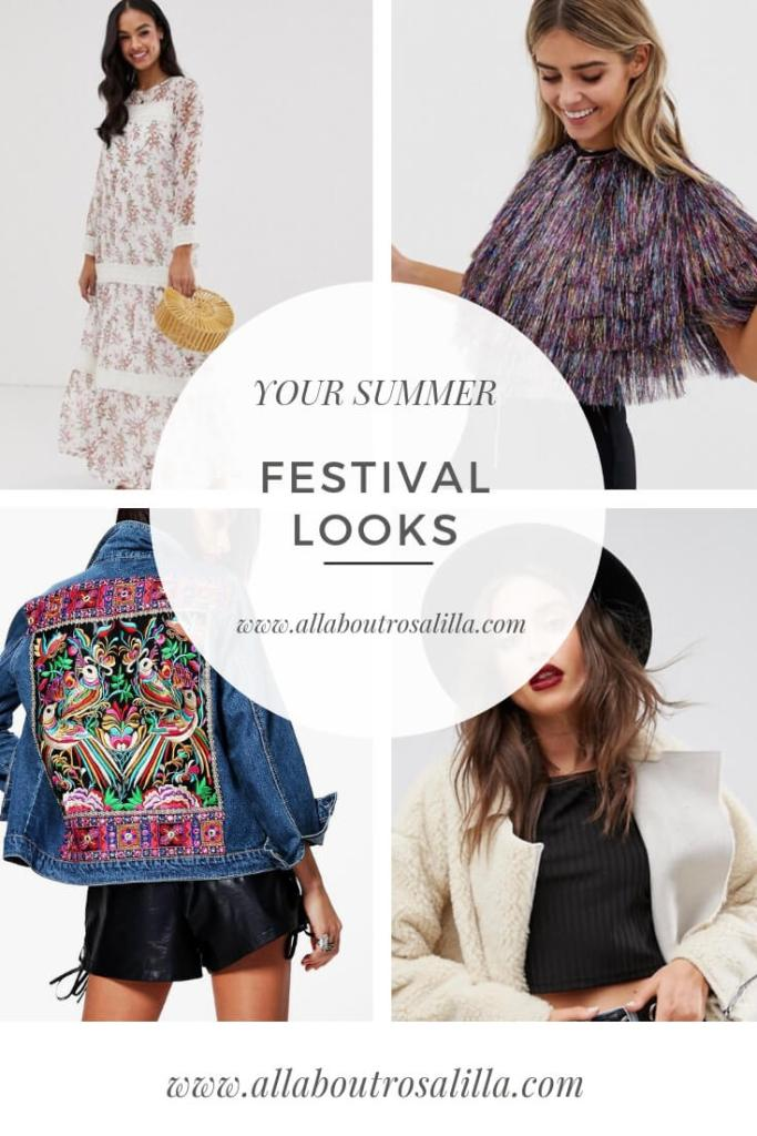 Summer is coming and all of our favourite bands are touring so I wanted to bring you some inspiration to get your most glamorous festival looks sorted. Read more on www.allaboutrosalilla.com #festivalstyle #festivalfashion #festivallooks #tuesdayten