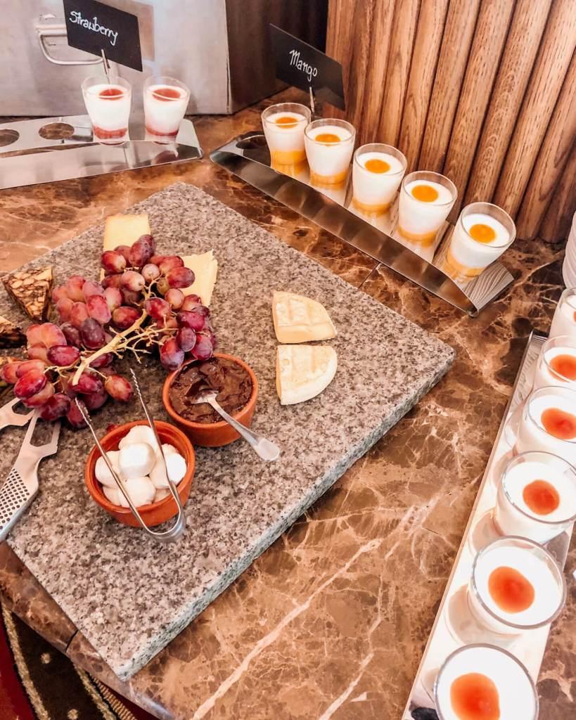 Breakfast buffet at Galgorm resort
