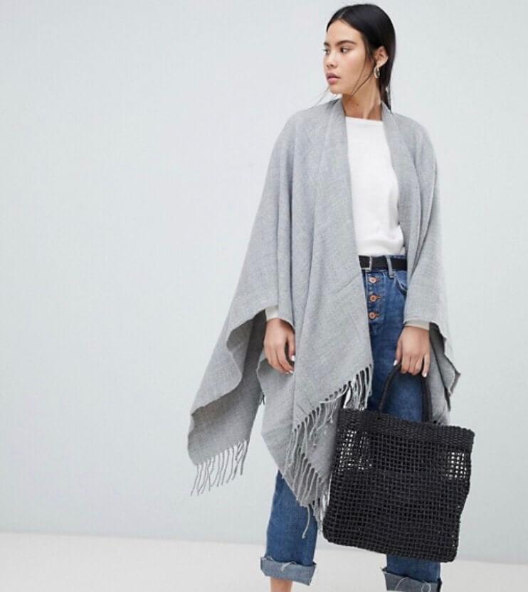 Soft Grey Cape. Fashion with Chronic illness. Read more www.allaboutrosalilla.com