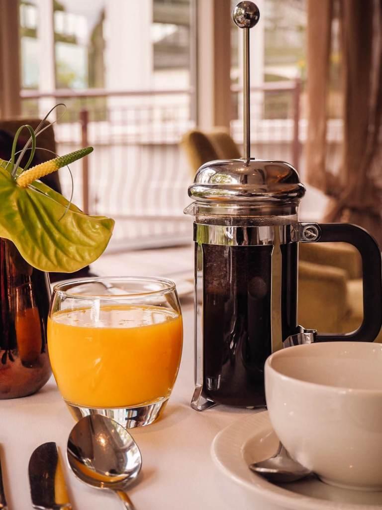 Breakfast at Galgorm spa and golf resort