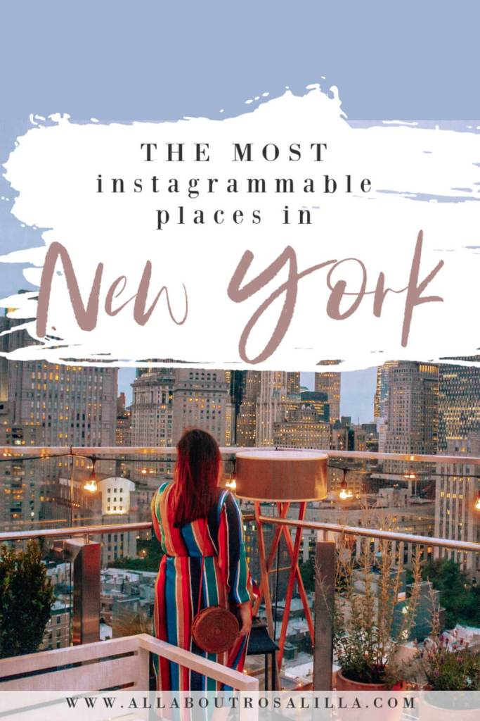 You don't have to go very far in New York to find those picture perfect opportunities. However, today I am bringing you the most instagrammable places in New York. The places away from the typical tourist spots and off the beaten path. These places will just make your instagram pop and have others envying over your feed. Read more on www.allaboutrosalilla.com #newyork #instagram #newyorkcity #instagramspotsinnewyork