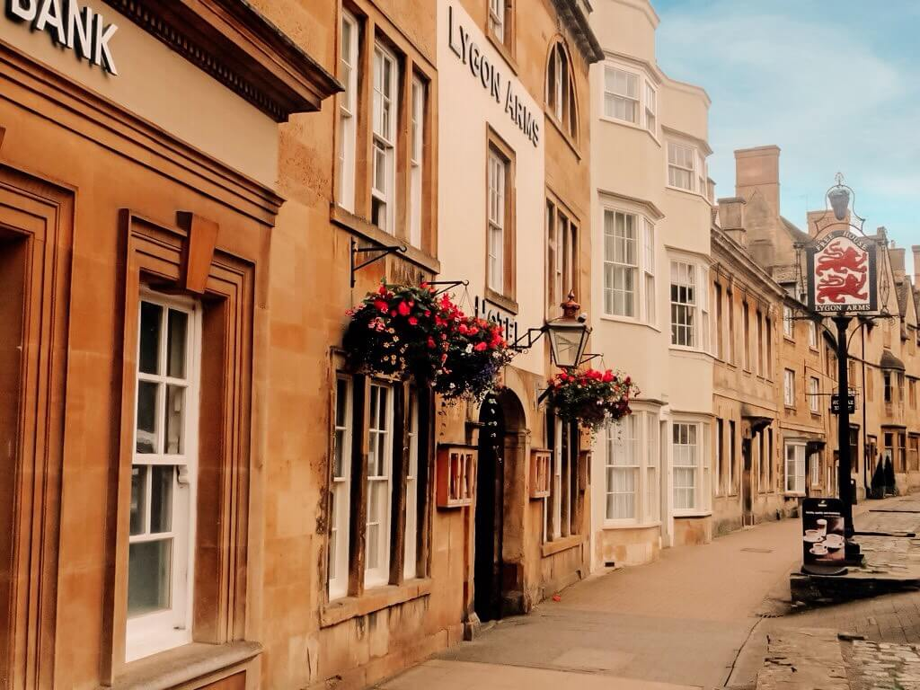 Streets of a Cotswold village