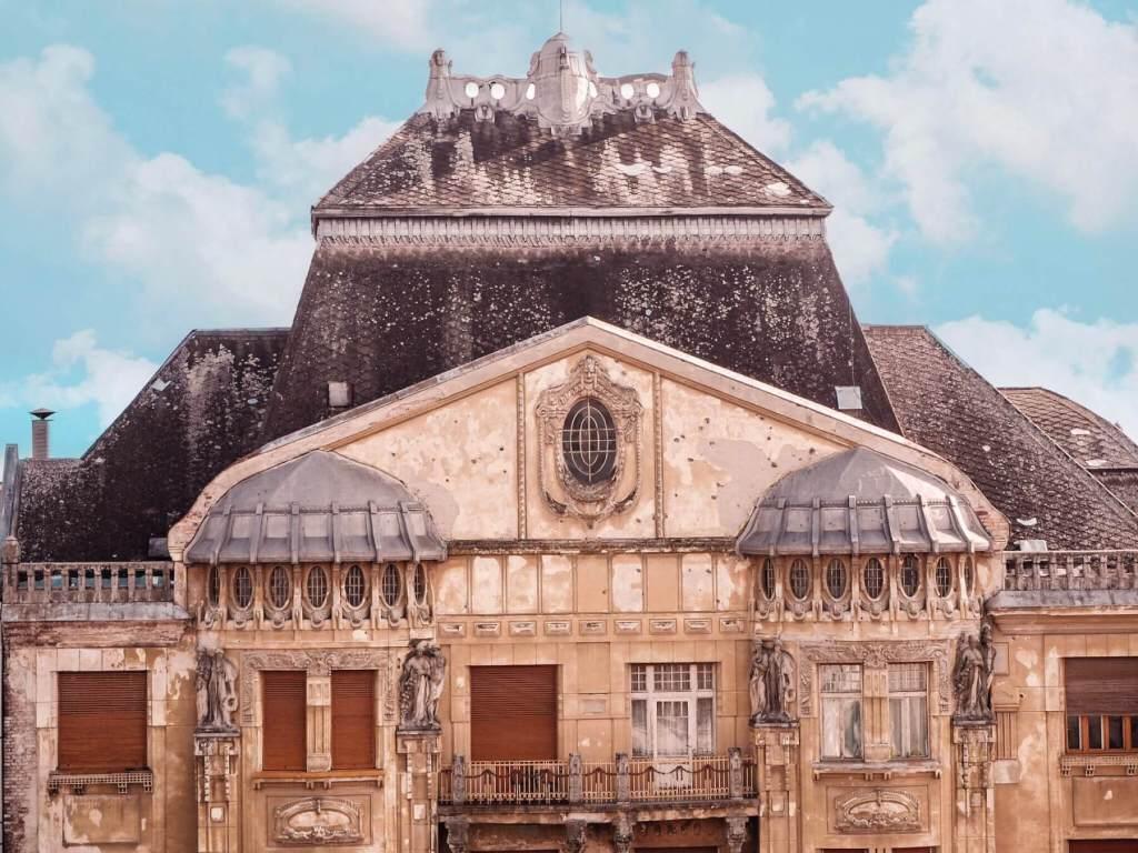 Beautiful Baroque architecture in Romania. Read more on www.allaboutrosalilla.com
