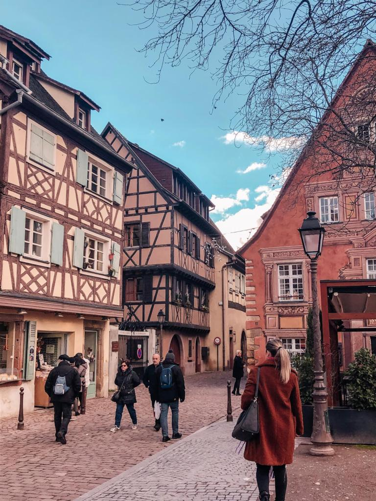 Exploring the Christmas Markets in Colmar.