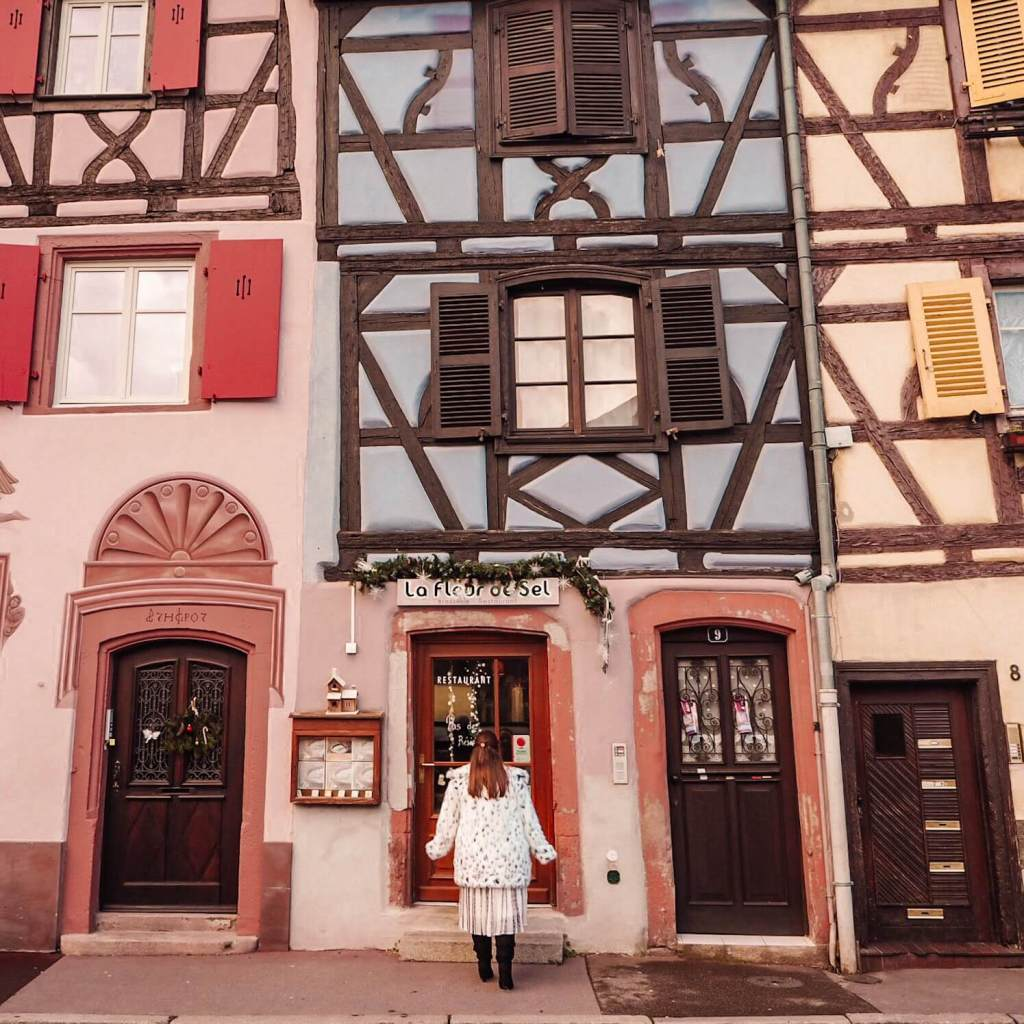 The Gingerbread houses of Colmar.