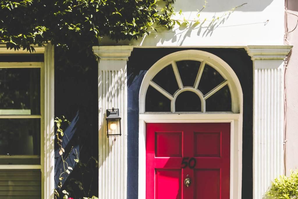 Pretty doors of Notting Hill London.