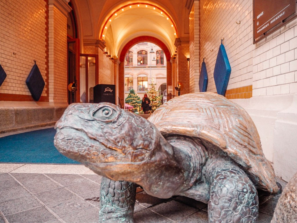 The Turtle at the Tortue Hotel Hamburg