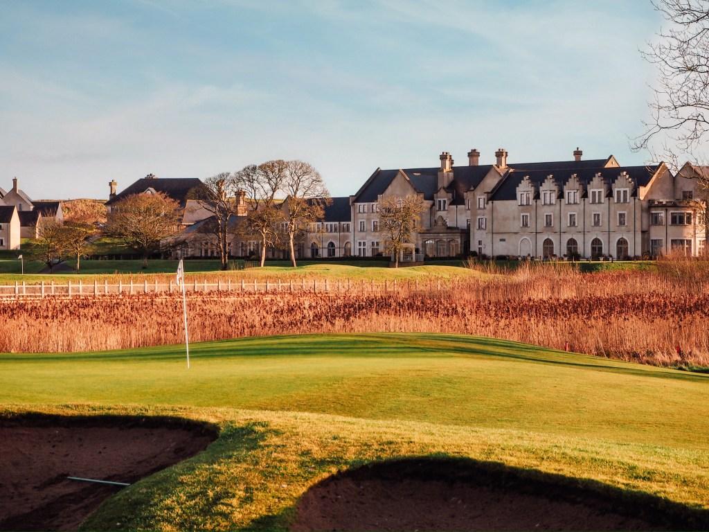 The Nick Faldo designed golf course of Lough Erne Golf Resort in Northern Ireland.