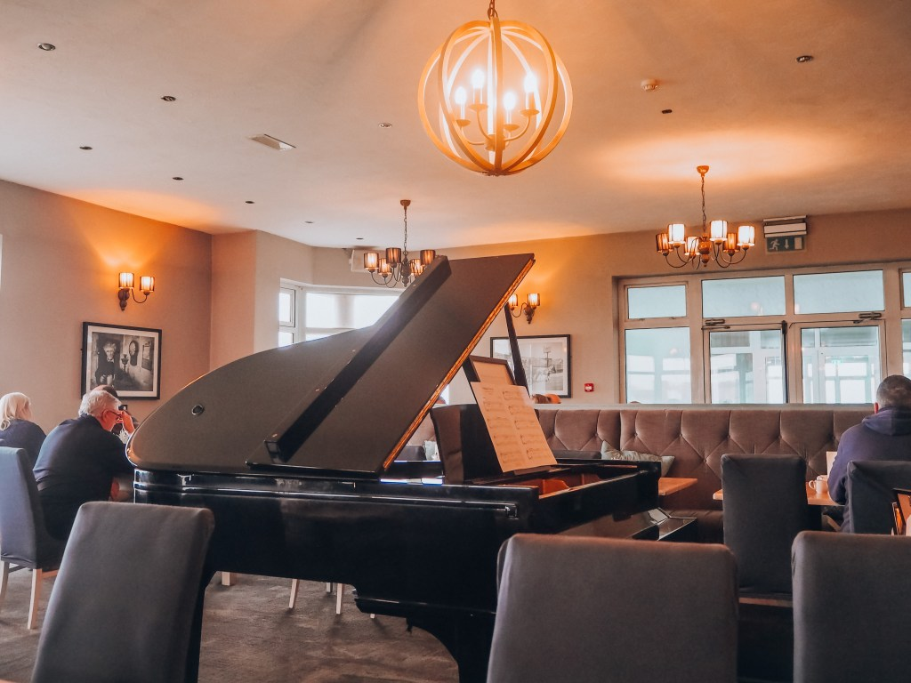 Piano in the Pearl Restaurant at Armada Spanish Point Hotel