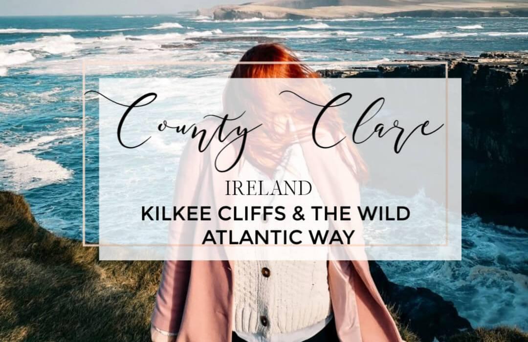 County Clare Ireland. Kilkee Cliffs and The Wild Atlantic Way