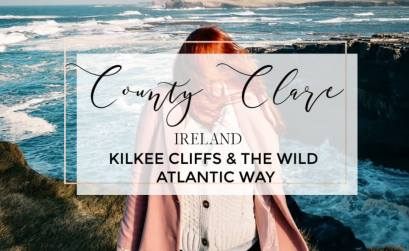 County Clare Ireland. Kilkee Cliffs and The Wild Atlantic Way