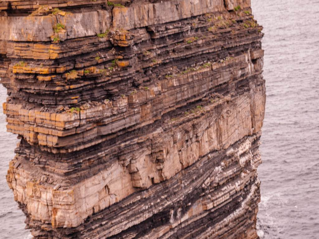 Things to do in Ireland. Sightseeing at Downpatrick Head Mayo