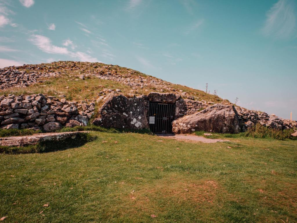 Loughcrew cairns neolithic passage tombs in County Meath Ireland