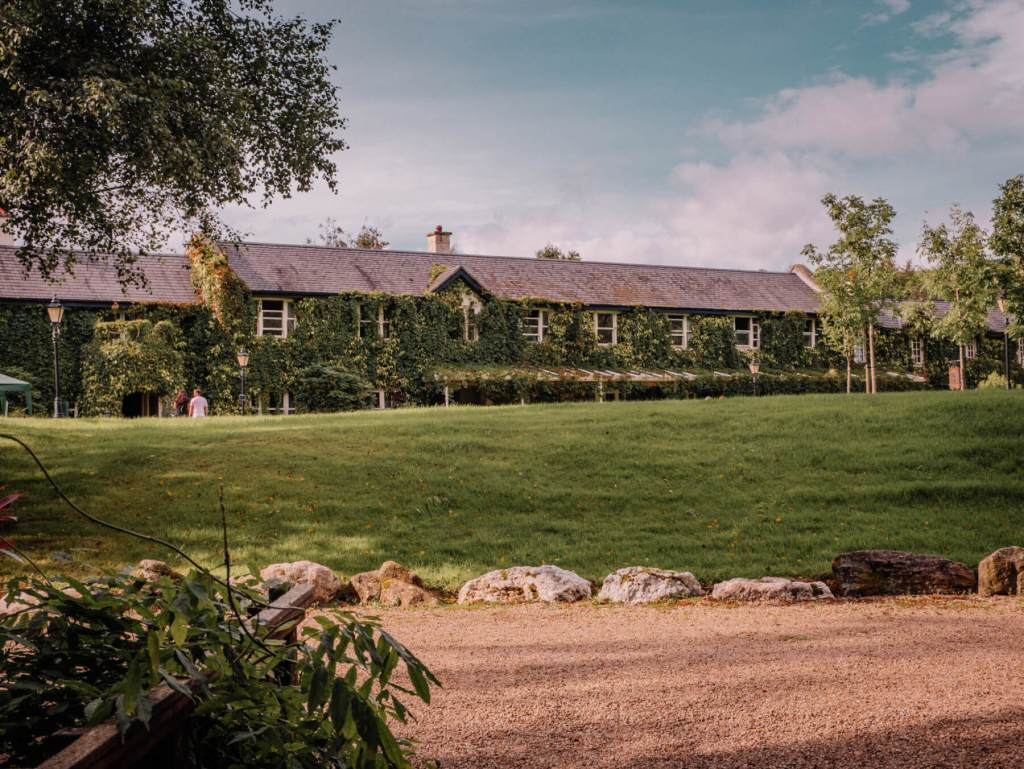 Brooklodge and Macreddin village in Wicklow Ireland