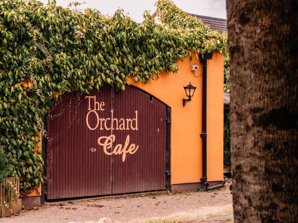 The Orchard Cafe at Brooklodge Hotel in Wicklow Ireland