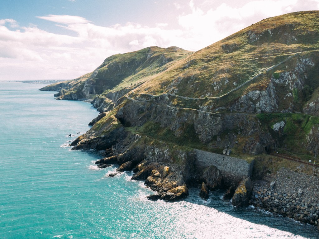Walking the Bray Head Coastal path is a fun thing to do in Irelands Ancient East