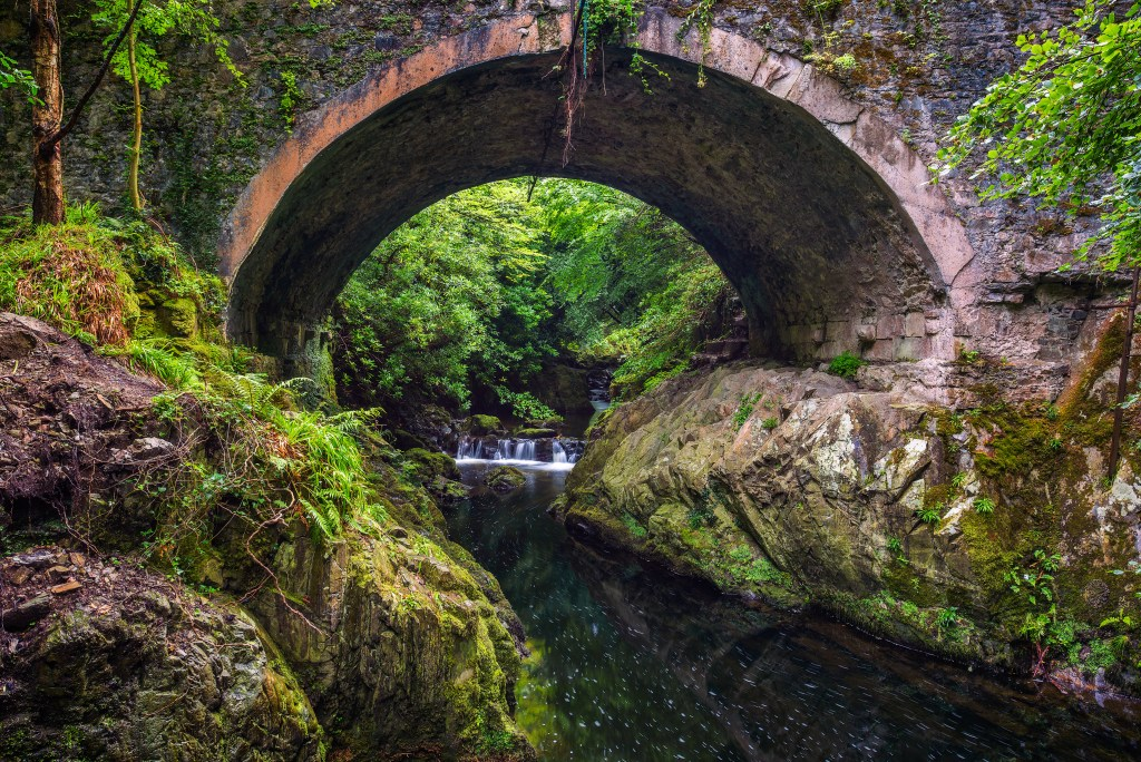 Tollymore Forest in County Down a game of thrones filming location in Northern Ireland