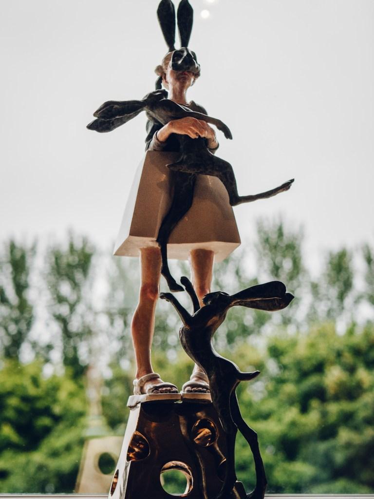 Helen Merrigan Colfer sculpture at Art & Soul Culloden Estate