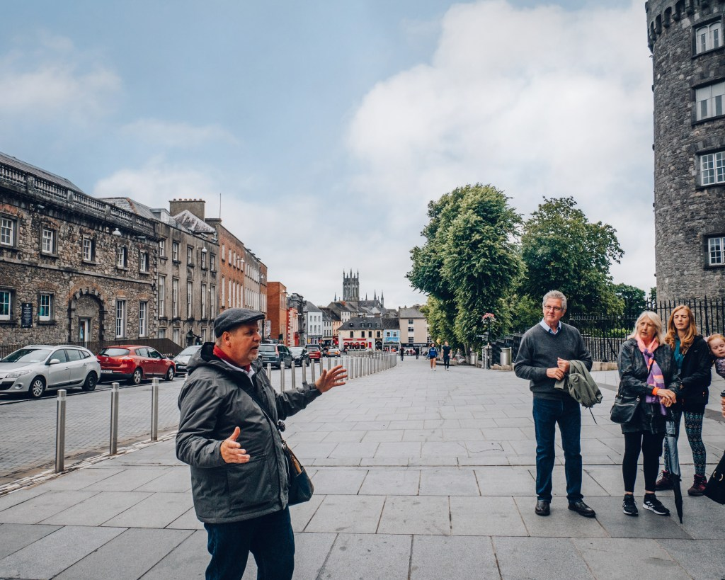 Shenanigans walking tour of Kilkenny Ireland