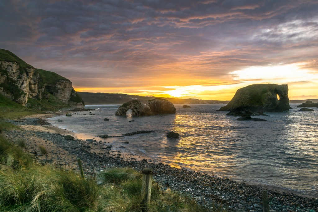 Elephant Rock Ballintoy Harbour where Game of Thrones was filmed in Northern Ireland