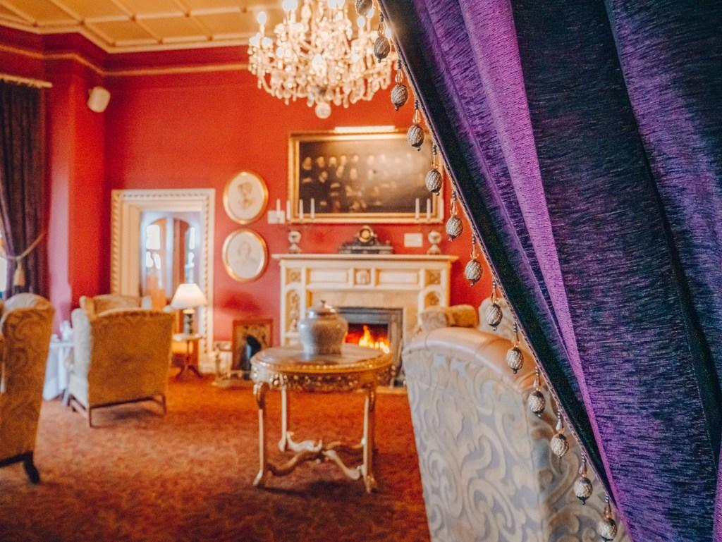 Opulent interior of Culloden Estate and spa