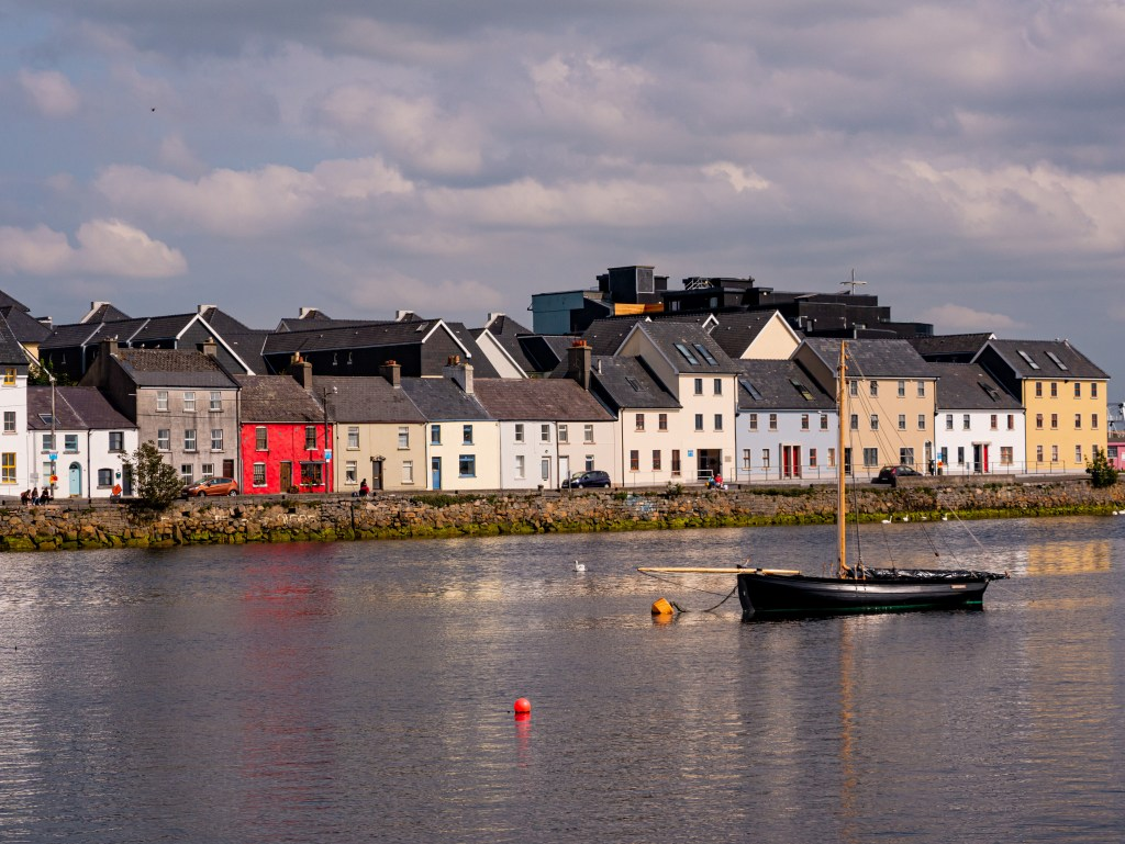 The Long Walk in medieval Galway